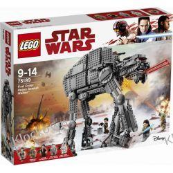 75189 CIĘŻKA MASZYNA KROCZĄCA NAJWYŻSZEGO PORZĄDKU™ (First Order Heavy Assault Walker) KLOCKI LEGO STAR WARS  Playmobil