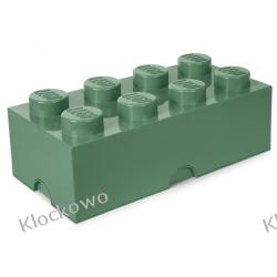 POJEMNIK LEGO 8 PIASKOWA ZIELEŃ - LEGO POJEMNIKI Kompletne zestawy