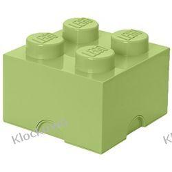 POJEMNIK LEGO 4 ŻÓŁTAWA ZIELEŃ - LEGO POJEMNIKI Minifigures