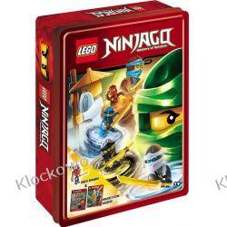 LEGO® NINJAGO®. ZESTAW KSIĄŻEK Z KLOCKAMI LEGO Książki dla dzieci i młodzieży