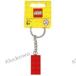 850154 BRELOCZEK Z CZERWONYM KLOCKIEM (Red 2x4 Stud Keychain) - LEGO® Pirates
