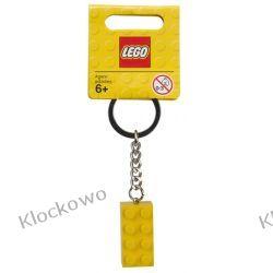 852095 BRELOCZEK Z ŻÓŁTYM KLOCKIEM (Yellow 2x4 Stud Keychain) - LEGO®