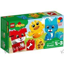 10858 MOJE PIERWSZE ZWIERZĄTKA (My First Puzzle Pets) KLOCKI LEGO DUPLO Creator