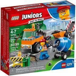 10750 SAMOCHÓD ROBÓT DROGOWYCH (Road Repair Truck) - KLOCKI LEGO JUNIORS Playmobil