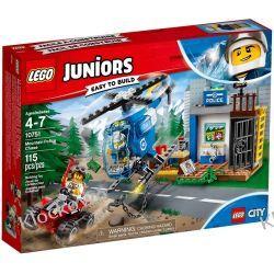 10751 GÓRSKI POŚCIG POLICYJNY (Mountain Police Chase) - KLOCKI LEGO JUNIORS Playmobil