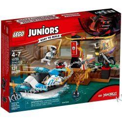10755 WODNY POŚCIG ZANE'A (Zane's Ninja Boat Pursuit) - KLOCKI LEGO JUNIORS Kompletne zestawy