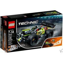 42072 ŻÓŁTA WYŚCIGÓWKA (Whack!) KLOCKI LEGO TECHNIC  Technic