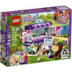 41332 STOISKO Z RYSUNKAMI EMMY (Emma's Art Stand) KLOCKI LEGO FRIENDS Kompletne zestawy