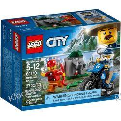 60170 POŚCIG ZA TERENÓWKĄ (Off-Road Chase) KLOCKI LEGO CITY Pociąg