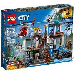 60174 GÓRSKI POSTERUNEK POLICJI (Mountain Police Headquarters) KLOCKI LEGO CITY Creator