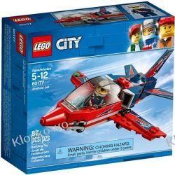 60177 ODRZUTOWIEC POKAZOWY (Airshow Jet) KLOCKI LEGO CITY Kompletne zestawy