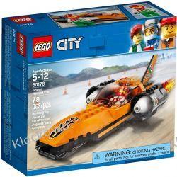 60178 WYŚCIGOWY SAMOCHÓD (Speed Record Car) KLOCKI LEGO CITY Kompletne zestawy