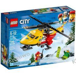60179 HELIKOPTER MEDYCZNY (Ambulance Helicopter) KLOCKI LEGO CITY Policja