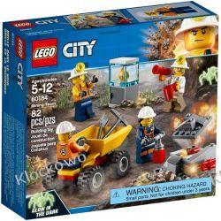 60184 EKIPA GÓRNICZA (Mining Team) KLOCKI LEGO CITY Kompletne zestawy