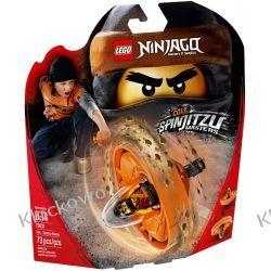 70637 COLE - MISTRZ SPINJITZU (Cole Spinjitzu Master) KLOCKI LEGO NINJAGO Kompletne zestawy