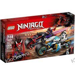 70639 WYŚCIG ULICZNY WĘŻOWEGO JAGUARA (Street Race of Snake Jaguar) KLOCKI LEGO NINJAGO Kompletne zestawy