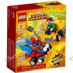 76089 SPIDER-MAN VS. SANDMAN (Mighty Micros Scarlet Spider vs Sandman) - KLOCKI LEGO SUPER HEROES Playmobil