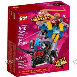 76090 STAR-LORD VS. NEBULA (Mighty Micros: Star-Lord vs. Nebula) - KLOCKI LEGO SUPER HEROES Kompletne zestawy
