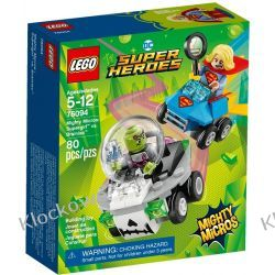 76094 SUPERGIRL™ VS. BRAINIAC™ (Mighty Micros: Supergirl vs. Brainiac) - KLOCKI LEGO SUPER HEROES Ninjago