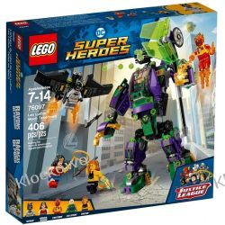 76097 STARCIE Z MECHEM LEXA LUTHORA (Lex Luthor Mech Takedown) - KLOCKI LEGO SUPER HEROES Z zabawkami