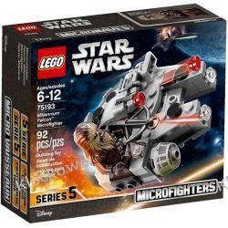 75193 SOKÓŁ MILLENNIUM™ (Millennium Falcon Microfighter) KLOCKI LEGO STAR WARS  Kompletne zestawy