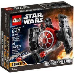 75194 MYŚLIWIEC TIE NAJWYŻSZEGO PORZĄDKU™ (First Order TIE Fighter Microfighter) KLOCKI LEGO STAR WARS  Playmobil
