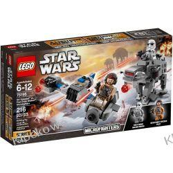 75195 SKI SPEEDER™ KONTRA MASZYNA KROCZĄCA NAJWYŻSZEGO PORZĄDKU™ (Ski Speeder vs First Order Walker Microfighters) KLOCKI LEGO STAR WARS  Kompletne zestawy