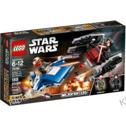 75196 A-WING™ KONTRA TIE SILENCER™ (A-Wing vs. TIE Silencer Microfighters) KLOCKI LEGO STAR WARS  Ninjago
