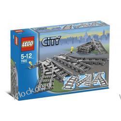 7895 ZWROTNICA KOLEJOWA KLOCKI LEGO CITY Kompletne zestawy
