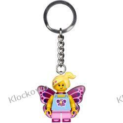 853795 BRELOCZEK DZIEWCZYNA MOTYL (Butterfly Girl Keychain) - LEGO® Kompletne zestawy
