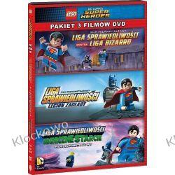 FILM LEGO® LIGA SPRAWIEDLIWOŚCI: KOLEKCJA 3 FILMÓW Filmy
