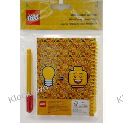51144 MAŁY NOTATNIK Z DŁUGOPISEM - LEGO GADŻETY