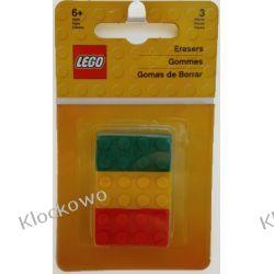51158 ZESTAW GUMEK: KLOCEK LEGO - LEGO GADŻETY Kompletne zestawy