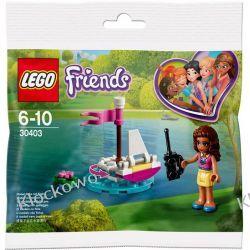 30403 ŁÓDŹ OLIVII (Olivia's Remote Control Boat) KLOCKI LEGO MINI BUILDS