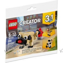 30542 UROCZY MOPS (Cute Pug) KLOCKI LEGO MINI BUILDS