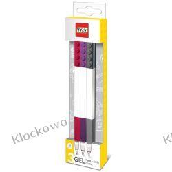 51861 DŁUGOPISY ŻELOWE 3 SZT - LEGO GADŻETY