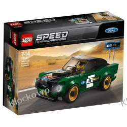 75884 FORD MUSTANG FASTBACK 1968 - LEGO SPEED CHAMPIONS Racers