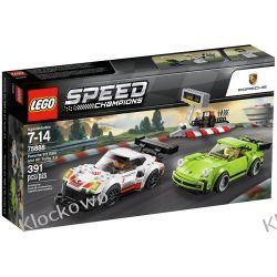 75888 PORSCHE 911 RSR & 911 TURNO 3.0 - KLOCKI LEGO SPEED CHAMPIONS Racers