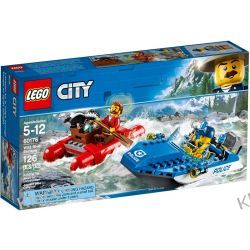 60176 UCIECZKA RZEKĄ (Wild River Escape) KLOCKI LEGO CITY Pozostałe