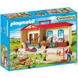 PLAYMOBIL 4897 PRZENOŚNE GOSPODARSTWO ROLNE  - COUNTRY Playmobil