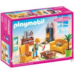 PLAYMOBIL 5308 SALON Z KOMINKIEM - DOLLHOUSE