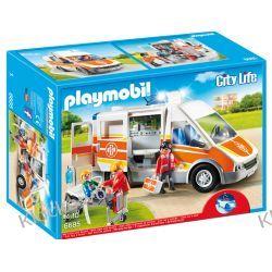 PLAYMOBIL 6685 KARETKA ZE ŚWIATŁEM I DŹWIĘKIEM - CITY LIFE Playmobil