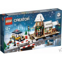 10259 STACJA W ZIMOWEJ WIOSCE (Winter Village Station) - KLOCKI LEGO EXCLUSIVE Kompletne zestawy