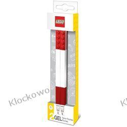 51675 DŁUGOPISY ŻELOWE 2 SZT CZERWONE - LEGO GADŻETY Kompletne zestawy