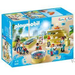 PLAYMOBIL 9061 SKLEPIK W OCEANARIUM - FAMILY FUN Kompletne zestawy