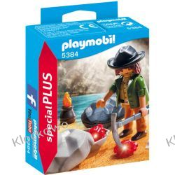 PLAYMOBIL 5384 POSZUKIWACZ MINERAŁÓW - SPECIALPLUS Playmobil