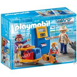 PLAYMOBIL 5399 RODZINA PRZY AUTOMACIE CHECK-IN - CITY ACTION Kompletne zestawy
