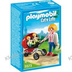 PLAYMOBIL 5573 WÓZEK DLA BLIŹNIAKÓW - CITY LIFE Playmobil