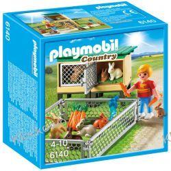 PLAYMOBIL 6140 KLATKA DLA KRÓLIKÓW Z WOLNYM WYBIEGIEM - COUNTRY Playmobil