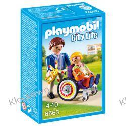 PLAYMOBIL 6663 DZIECKO NA WÓZKU INWALIDZKIM - CITY LIFE Playmobil